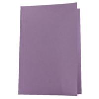 Guildhall Foolscap Mauve Mediumweight Square Cut Folder Pack of 100 FS250-MVEZ