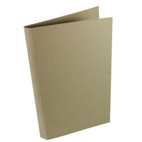 Guildhall Foolscap Buff Heavyweight Square Cut Folder Pack of 100 FS290-BUFZ