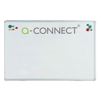 Q-Connect Aluminium Magnetic Whiteboard 900x600mm KF01079