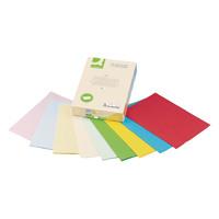 Q-Connect Coloured A4 Copier Paper 80gsm Cream Ream (Pack of 500)