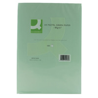 Q-Connect Green A4 Copier Paper 80gsm (Pack of 500) KF01093