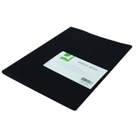 Q-Connect Display Book 10 Pocket Black KF01248