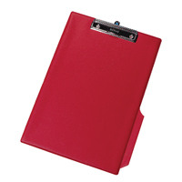Q-Connect PVC Clipboard Foolscap/A4 Red KF01298