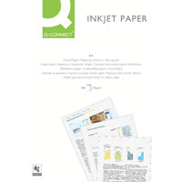 Q-Connect White A4 Premium Inkjet Paper 100gsm (Pack of 200) KF01553