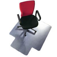 Q-Connect Chair Mat PVC 1143x1346mm Clear