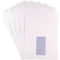Q-Connect C5 Window Envelopes 90gsm Self Seal White (Pack of 500) KF02718