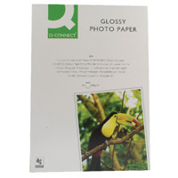 Q-Connect A4 Gloss Photo Paper 180gsm (Pack of 50) KF02771