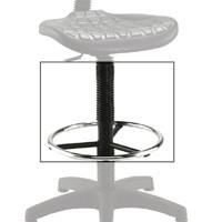 Jemini Black Factory Work Chair Extension KF03369