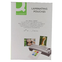 Q-Connect A4 Laminating Pouch 200 Micron (Pack of 100) KF04115