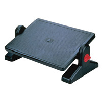 Q-Connect Black Foot Rest