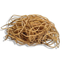 Q-Connect No.19 Rubber Bands (Pack of 500g) KF10527