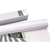 Q-Connect White Plotter Paper 610mmx50m 80gsm (Pack of 4) KF15169