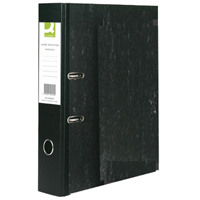 Q-Connect Black Foolscap Lever Arch File (Pack of 10) KF20002