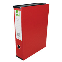 Q-Connect Red Box File - (Pack of 5)