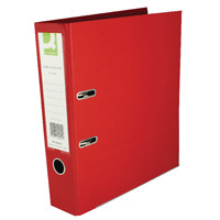 Q-Connect Red A4 Polypropylene Lever Arch File (Pack of 10) KF20021