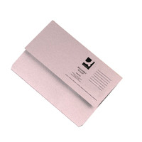 Q-Connect Document Wallet 285gsm Foolscap Buff Pack of 50 KF23010