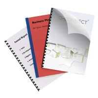 Q-Connect Clear A4 PVC Binding Covers 150 Micron (Pack of 250) KF24010