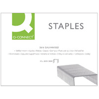 Q-Connect 26/6 Staples Pack of 5000 KF27001