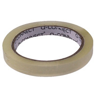 Q-Connect Easy Tear 12mmx66m Polypropylene Tape KF27015X