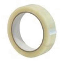Q-Connect Easy Tear Polypropylene Tape 19mm x 66m Pack of 8 KF27016