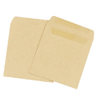 Q-Connect Wage Envelope 108x102mm Plain 90gsm Manilla Self Seal (Pack of 1000) KF3420