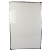 Q-Connect Aluminium Frame 900x600mm Whiteboard 54034621 KF37015