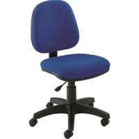 Jemini Medium Back Operator Blue Chair KF50171