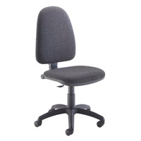 Jemini High Back Operator Charcoal Chair KF50172