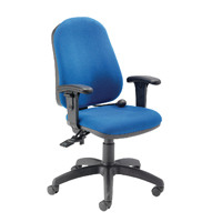 Cappela Intro Posture Chair Plus Arms Blue