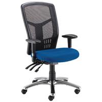 Avior Logan High Back Mesh Operator Blue Chair KF97088