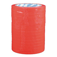 Red Polypropylene Tape 9mm x66m (Pack of 16) 70521252