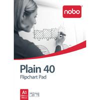 Nobo Flipchart A1 Pad Plain FPA1 Pack of 5 34631165