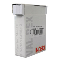 Nobo T-Card Size 2 White (Pack of 100) 32938900