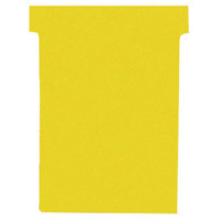Nobo Yellow A50 Size 2 T-Cards (Pack of 100) 32938904
