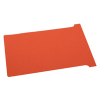 Nobo T-Card Size 2 Red (Pack of 100) 32938906