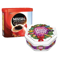 Nescafe Original 750g (Pack of 2) With FOC Quality Streets 1.3kg Tin NL819828