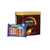 Nescafe Gold Blend Coffee 750g Buy 2 Get 2 Nestle Variety 6 Packs FOC NL819832