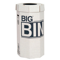Acorn Green Big Recycling Bin 160 Litre (Pack of 5) 142958