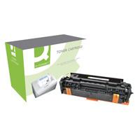 Q-Connect HP 305A Remanufactured Cyan Laserjet Toner Cartridge CE411A