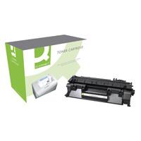 Q-Connect HP 05A Remanufactured Black Laserjet Toner Cartridge CE505A