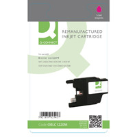 Q-Connect Brother Remanufactured Magenta Inkjet Cartridge LC1220M