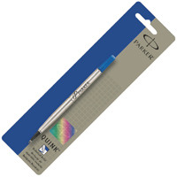 Parker Blue Rollerball Pen Refill Fine (Pack of 12) S0881210