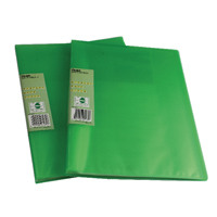 Pentel Recycology Vivid 30 Pocket Green Display Book (Pack of 10) DCF343D