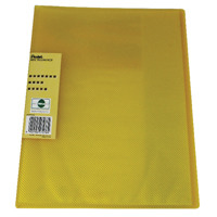Pentel Recycology Vivid 30 Pocket Yellow Display Book (Pack of 10) DCF343G