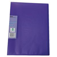 Pentel Recycology Vivid 30 Pocket Violet Display Book (Pack of 10) DCF343V