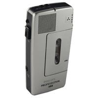 Philips Silver Pocket Memo Voice Activated Mini Cassette Recorder LFH0488