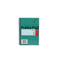 Pukka Jotta A5 Notebook Wirebound 5mm Square 200 Pages (Pack of 3) JM021SQ