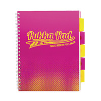 Pukka Halftone A4 Project Book Assorted 8196-HLT