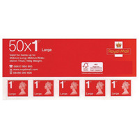 First Class Large Letter Postage Stamps (Pack of 50) SLDN1