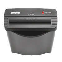 Rexel Alpha Strip-Cut Shredder With 10L Waste bin 2102020
